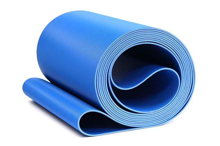 蓝色PVC输送带
